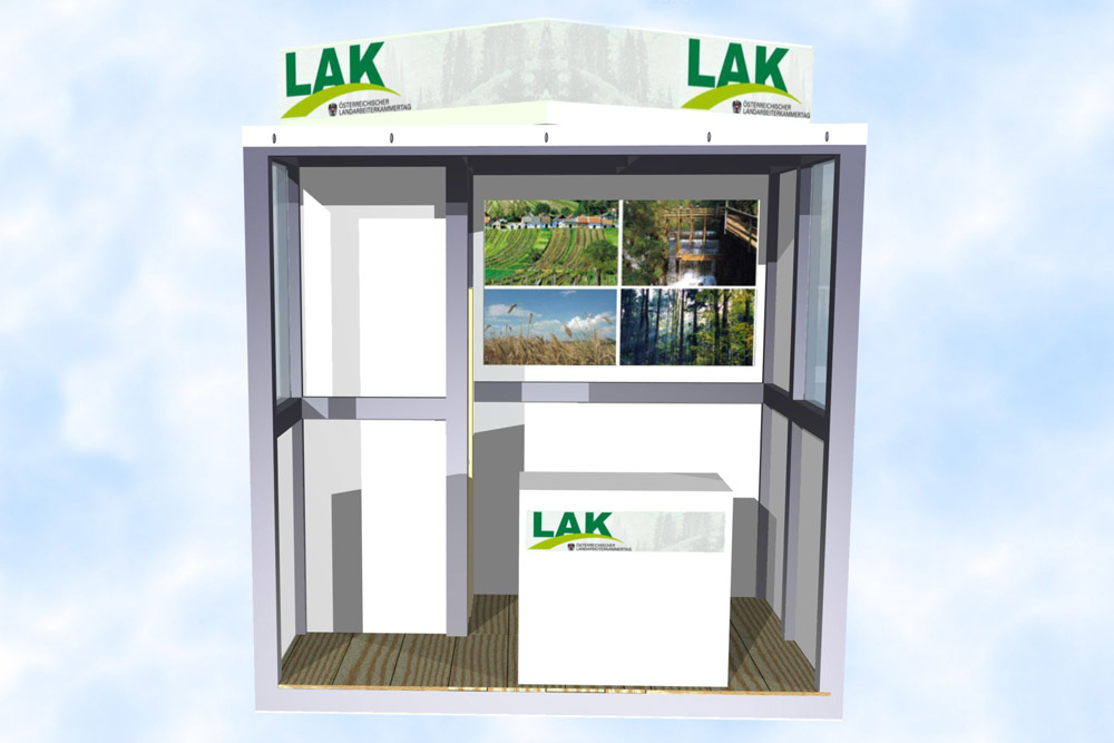 Messestand-Outdoor-Stand