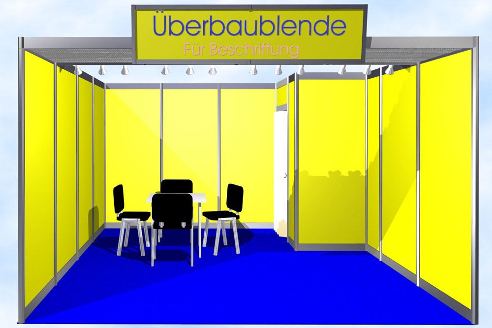 Messestand-Reihenstand