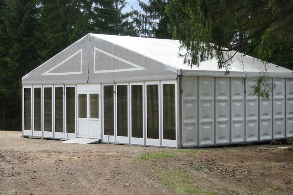 Messestand-Zelt